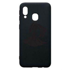 Phone case for Samsung A40 Virgo constellation - PrintSalon