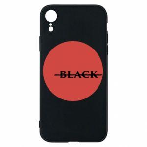 iPhone XR Case Вlack