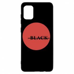 Samsung A31 Case Вlack