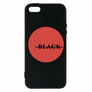 iPhone 5/5S/SE Case Вlack