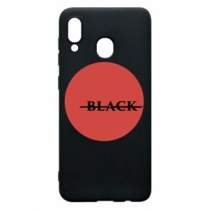 Phone case for Samsung A20 Вlack