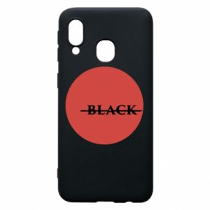 Samsung A40 Case Вlack