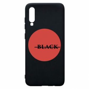 Phone case for Samsung A70 Вlack