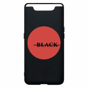 Phone case for Samsung A80 Вlack