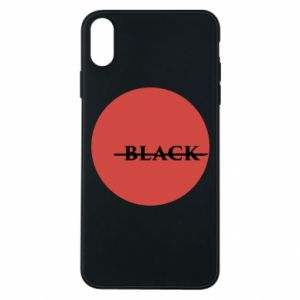 iPhone Xs Max Case Вlack