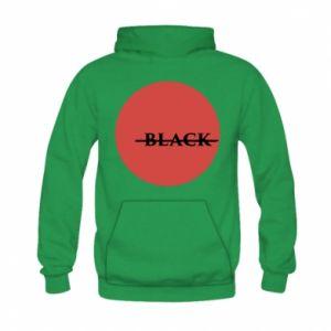Kid's hoodie Вlack