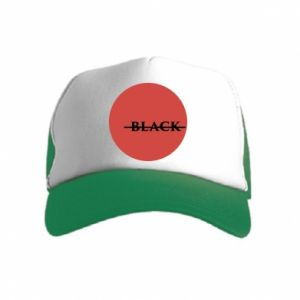 Kid's Trucker Hat Вlack