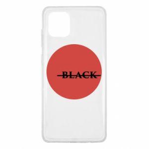 Samsung Note 10 Lite Case Вlack
