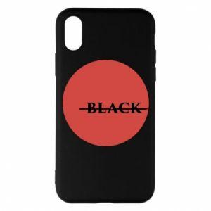 iPhone X/Xs Case Вlack