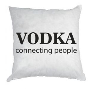 Pillow Vodka connecting people - PrintSalon