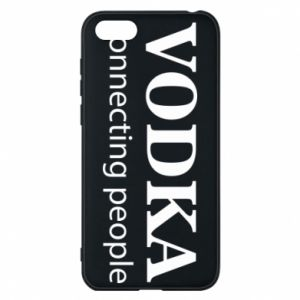 Phone case for Huawei Y5 2018 Vodka connecting people - PrintSalon
