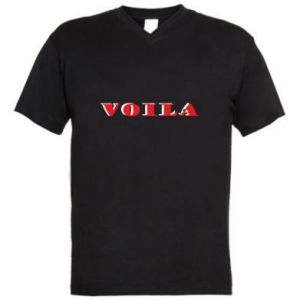 Męska koszulka V-neck Voila