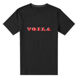 Męska premium koszulka Voila