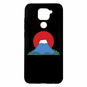 Etui na Xiaomi Redmi Note 9/Redmi 10X Volcano on sunset background