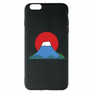 Etui na iPhone 6 Plus/6S Plus Volcano on sunset background