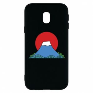 Etui na Samsung J3 2017 Volcano on sunset background