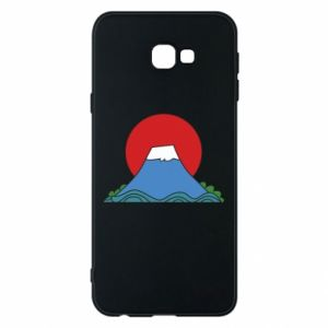 Etui na Samsung J4 Plus 2018 Volcano on sunset background
