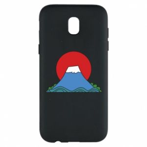 Etui na Samsung J5 2017 Volcano on sunset background