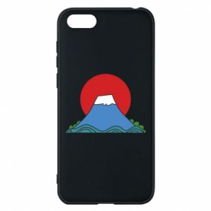 Etui na Huawei Y5 2018 Volcano on sunset background