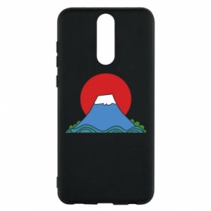 Etui na Huawei Mate 10 Lite Volcano on sunset background