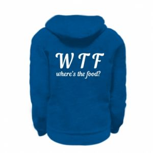 Kid's zipped hoodie % print% W T F ?