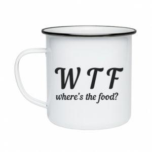 Enameled mug W T F ?