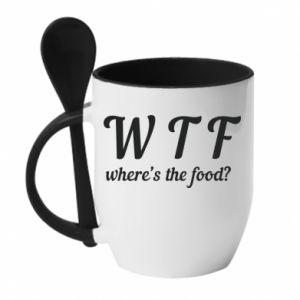 Mug with ceramic spoon W T F ?
