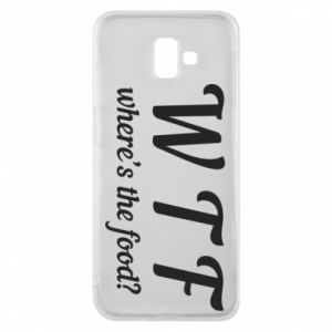 Phone case for Samsung J6 Plus 2018 W T F ?