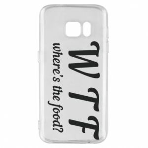 Phone case for Samsung S7 W T F ?
