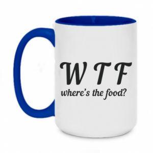Two-toned mug 450ml W T F ?