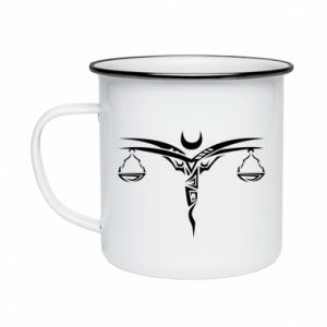 Enameled mug Wagi