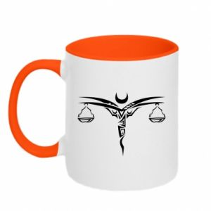 Two-toned mug Wagi - PrintSalon