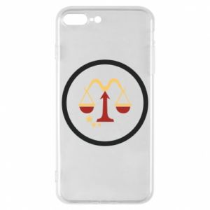 Phone case for iPhone 8 Plus Libra