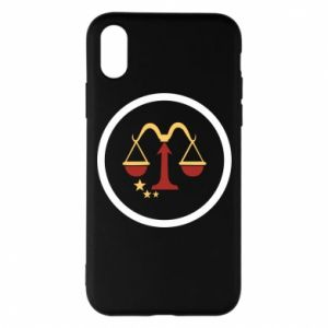 Phone case for iPhone X/Xs Libra