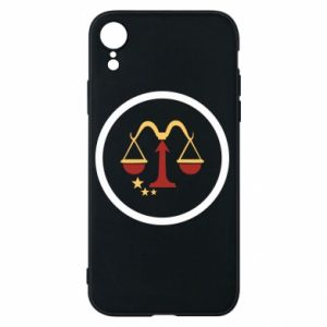Phone case for iPhone XR Libra
