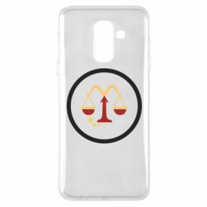 Phone case for Samsung A6+ 2018 Libra