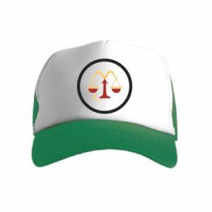 Kid's Trucker Hat Libra