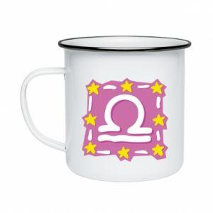 Enameled mug Wagi - PrintSalon