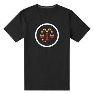 Męska premium koszulka Wagi