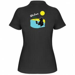 Women's Polo shirt Sea holiday