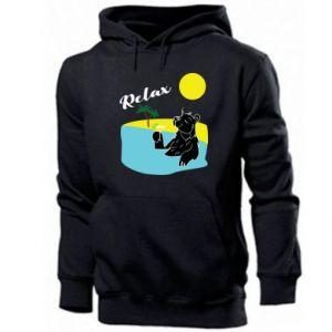 Men's hoodie Sea holiday