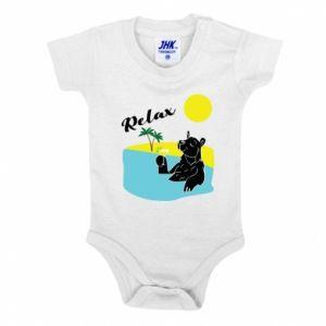 Baby bodysuit Sea holiday