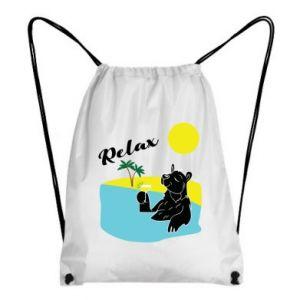 Backpack-bag Sea holiday