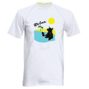 Men's sports t-shirt Sea holiday
