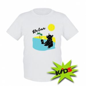 Kids T-shirt Sea holiday