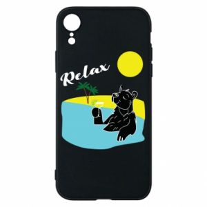 Phone case for iPhone XR Sea holiday