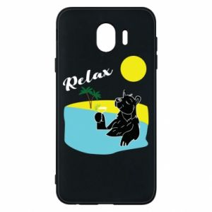 Phone case for Samsung J4 Sea holiday