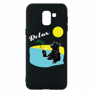 Phone case for Samsung J6 Sea holiday