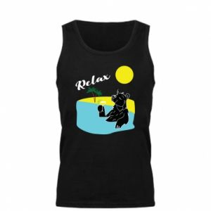 Męska koszulka Wakacje nad morzem - PrintSalon
