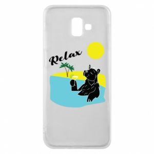 Phone case for Samsung J6 Plus 2018 Sea holiday